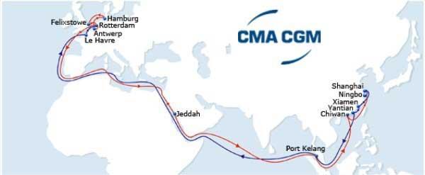 Cma cgm tracking china europe sailing schedule - Cma cgm sailing schedule port to port ...