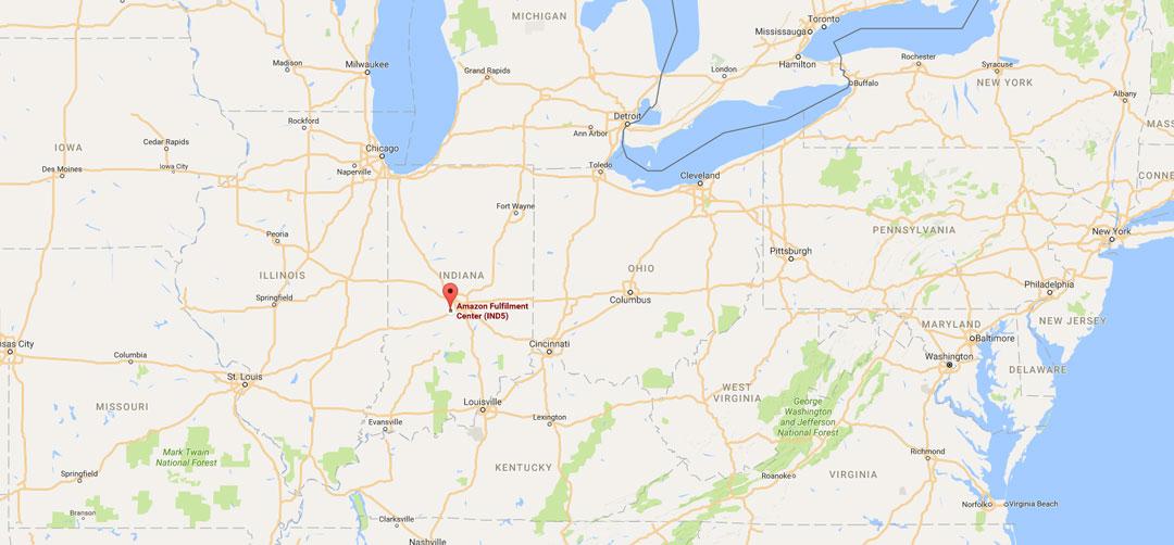 Amazon Fba U S A Warehouse Locations Address Ind5 800