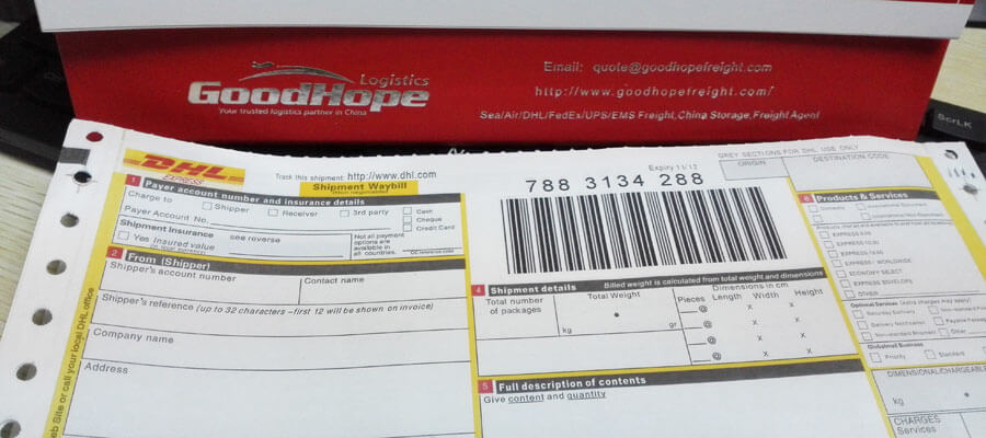 china hongkong dhl courier prices rates Global courier ...
