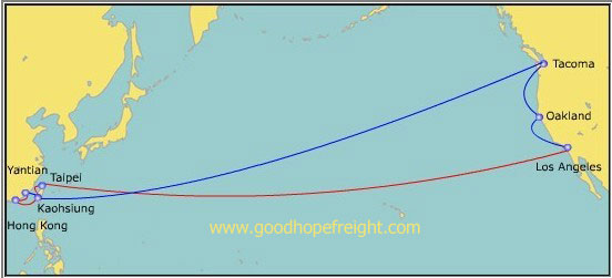 Evergreen Container Tracking China Sailing Schedule